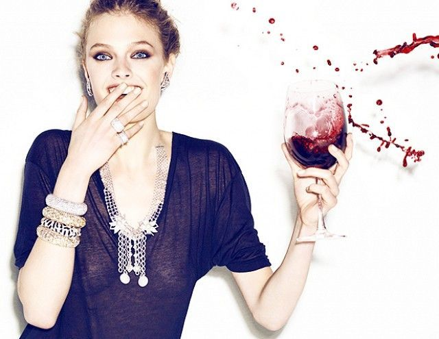 vino dientes