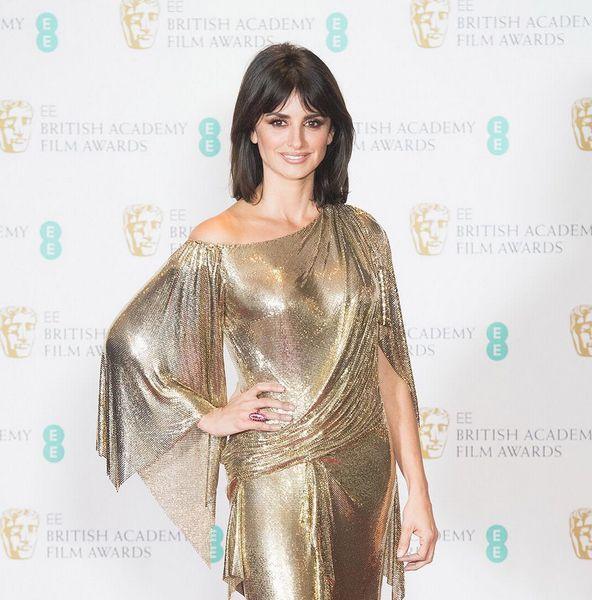 El look de Penélope Cruz en los BAFTA 2017
