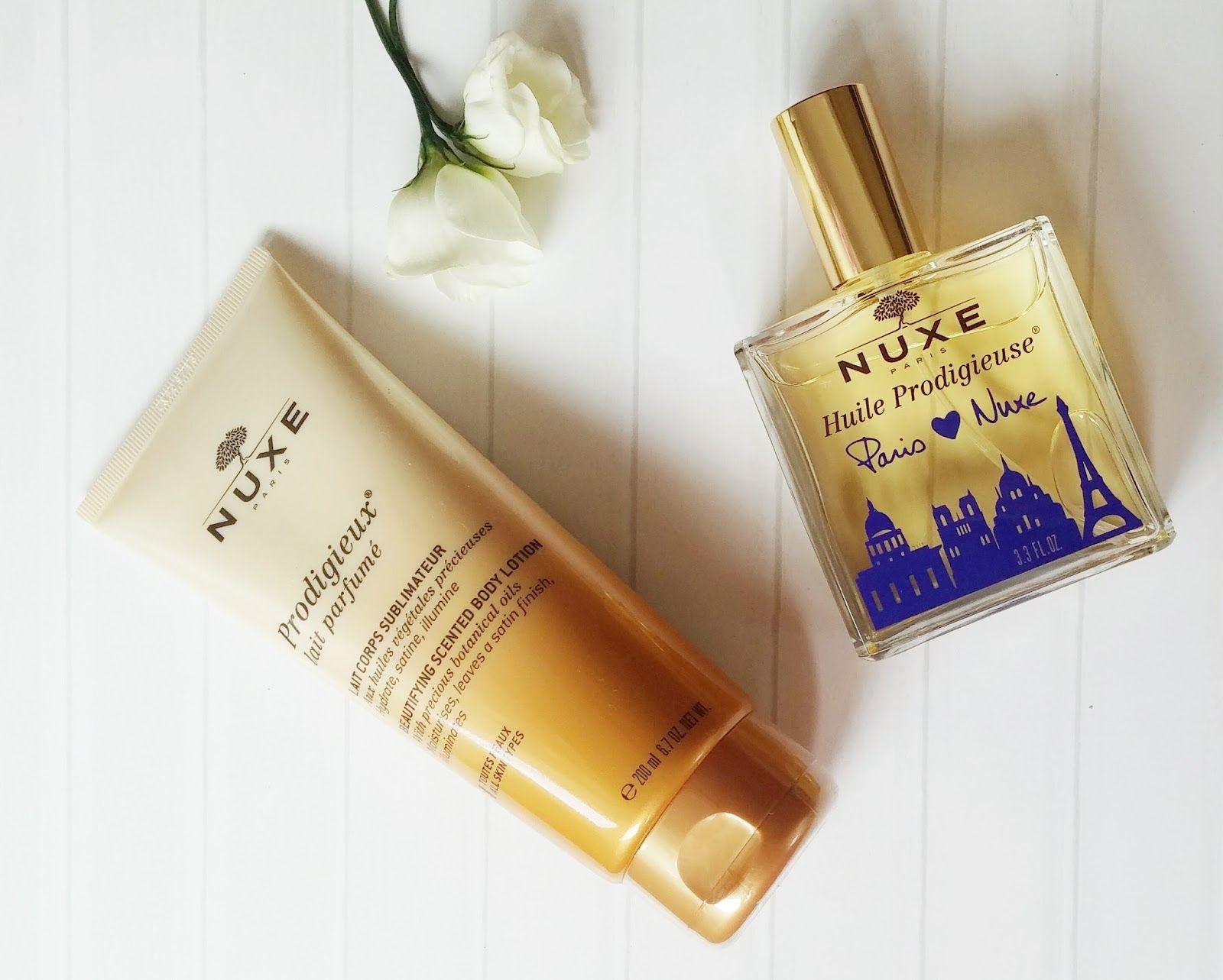 Leche corporal perfumada Prodigieux, Edición limitada Paris loves NUXE Huile Prodigieuse, nuxe