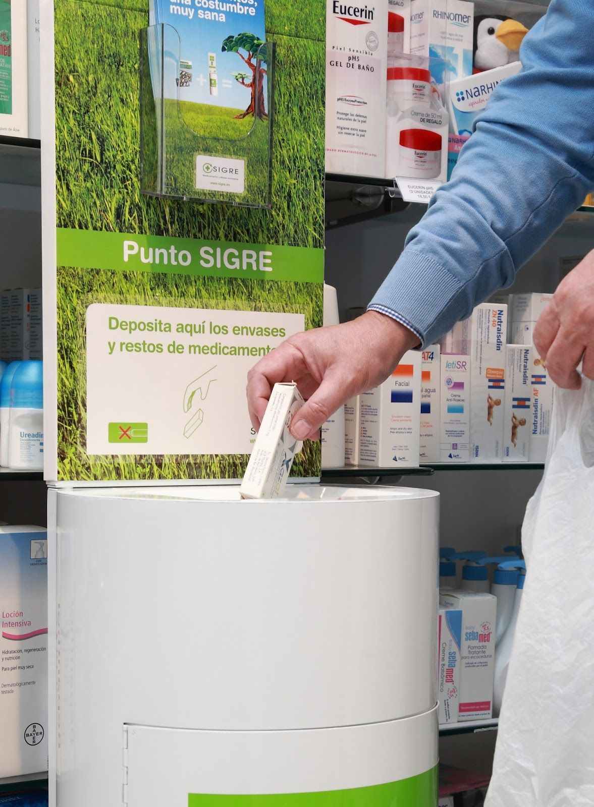 reciclado de envases y medicamentos