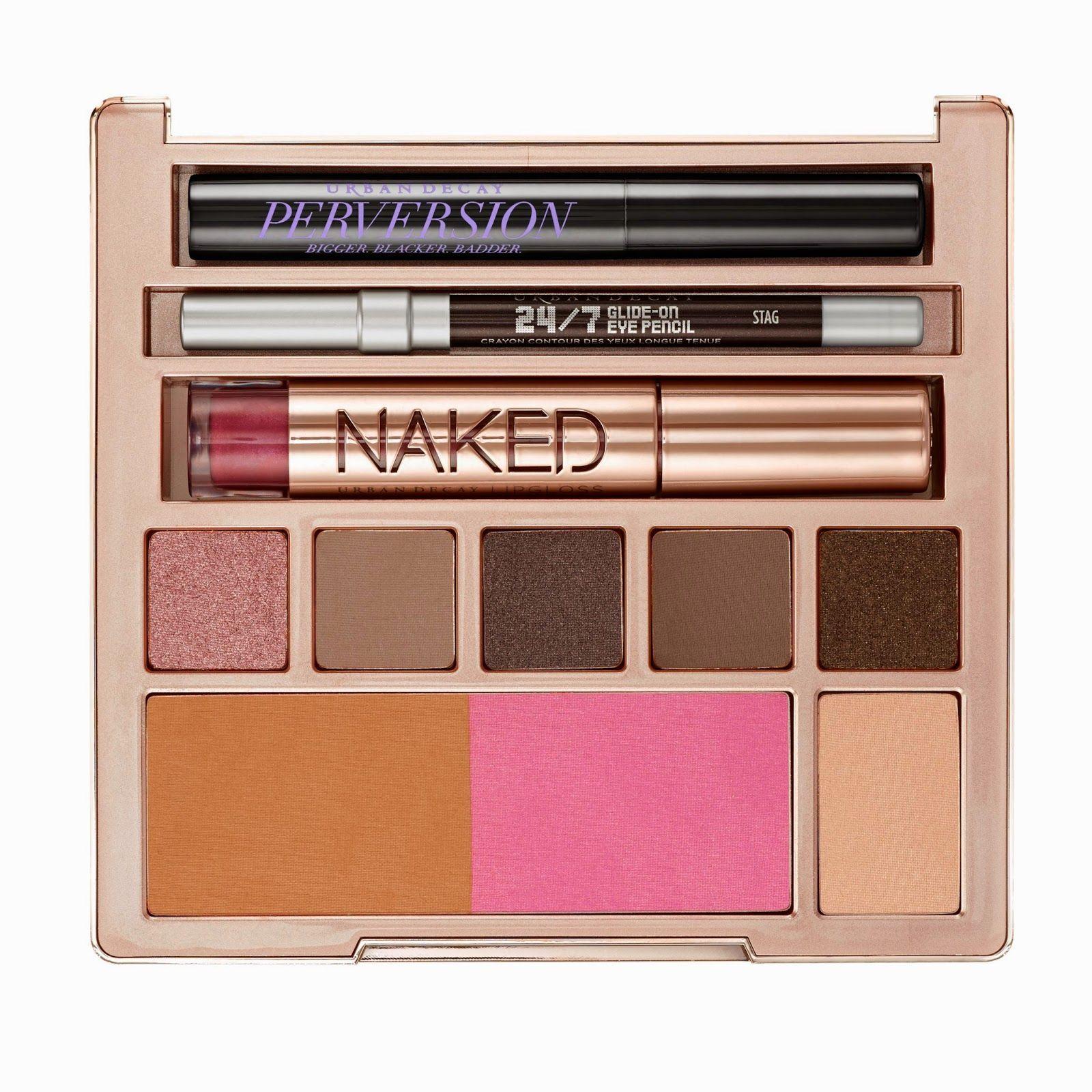 naked on the run, urban decay, edición limitada, todo en 1