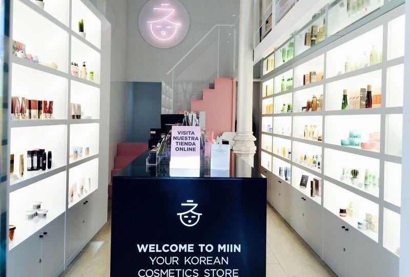 cosmética coreana miin cosmetics