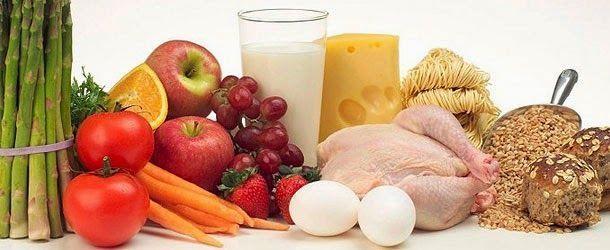 alimentación saludable, fibra, vitaminas, proteínas