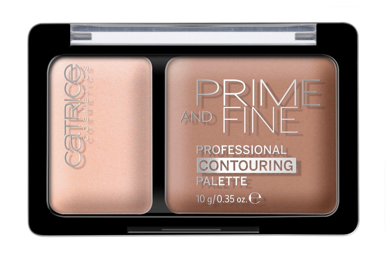 Prime and Fine Contouring Palette, catrice