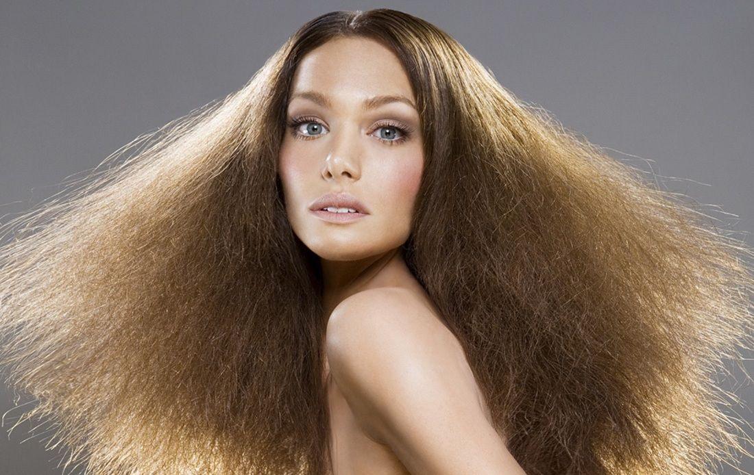 Сеченые волосы по всей длине