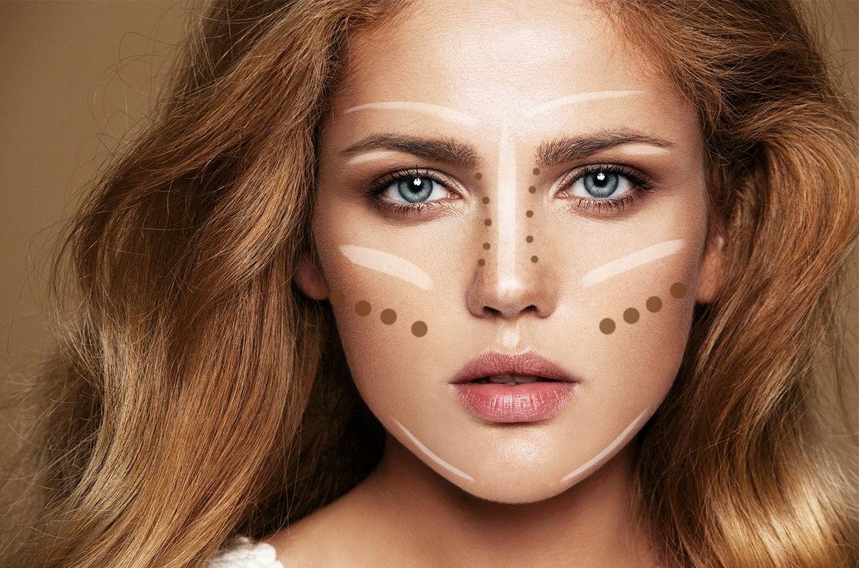 strobing, maquillaje