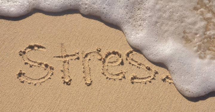 estrés mar