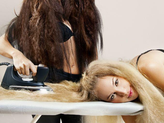 plancharse el pelo