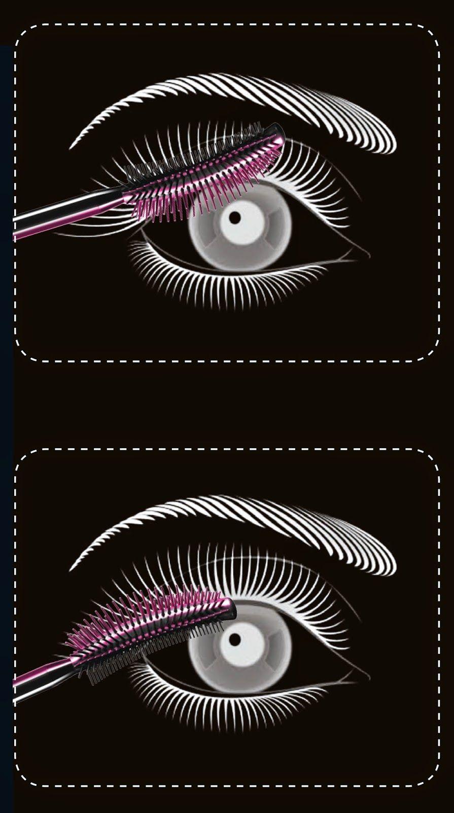 lash sensational, maybelline ny, aplicación
