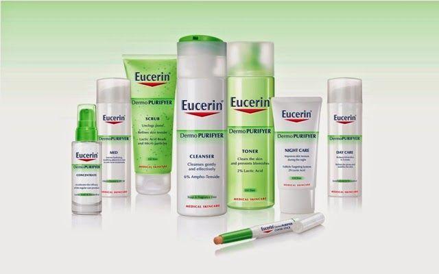 eucerin, línea, dermopurifyer