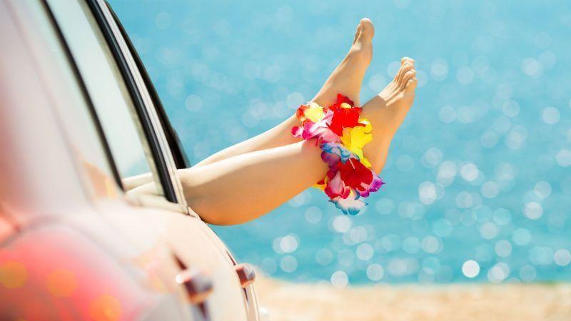 pies perfectos en verano