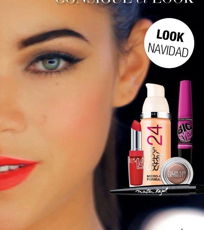 maquillaje de noche eyeliner maybelline