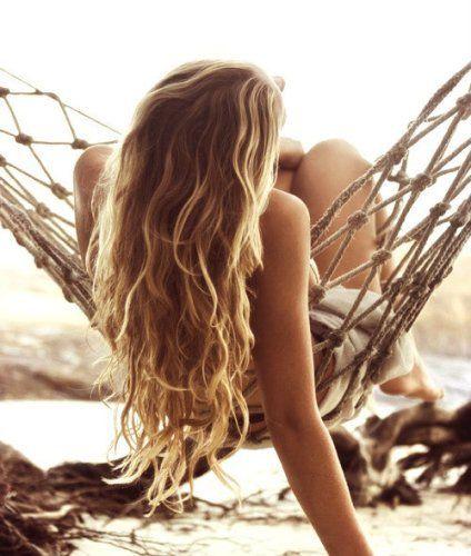 cabello verano, ondas surferas