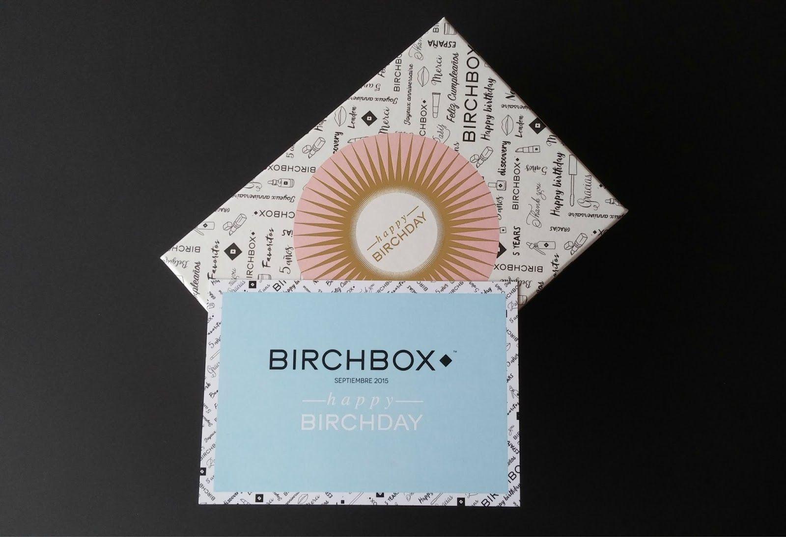 birchbox, happy birchday, septiembre 2015