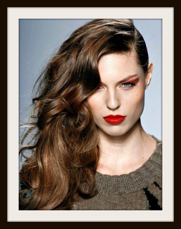 Tutorial peinado melena de lado un 10 en belleza - Peinados en melenas ...
