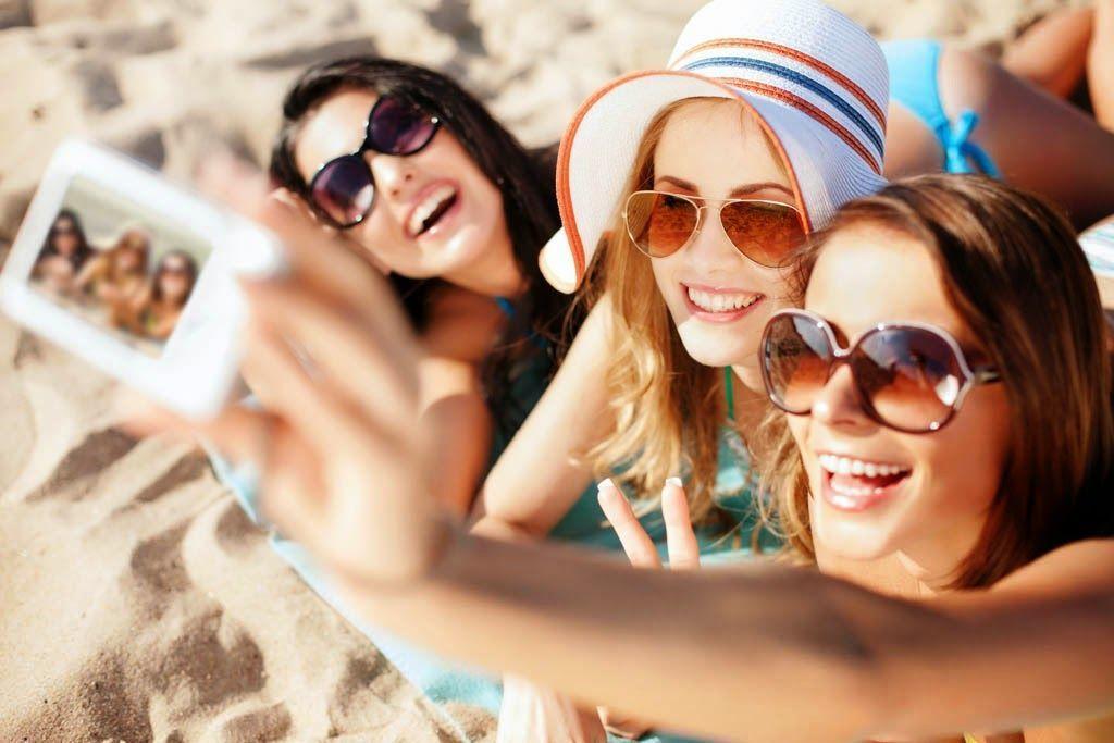 14 consejos vacaciones, selfie