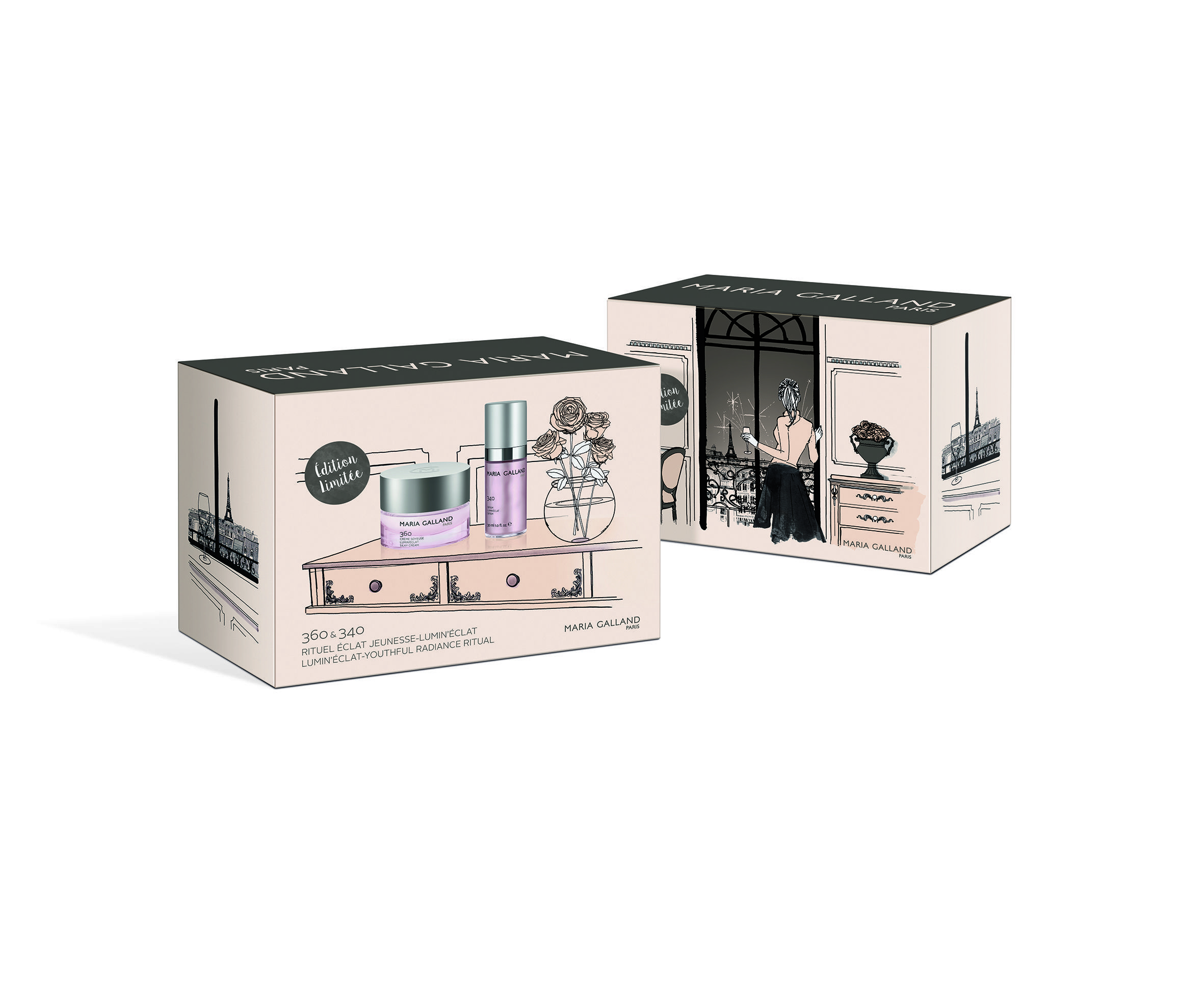Coffret Lumin'Éclat de Maria Galland