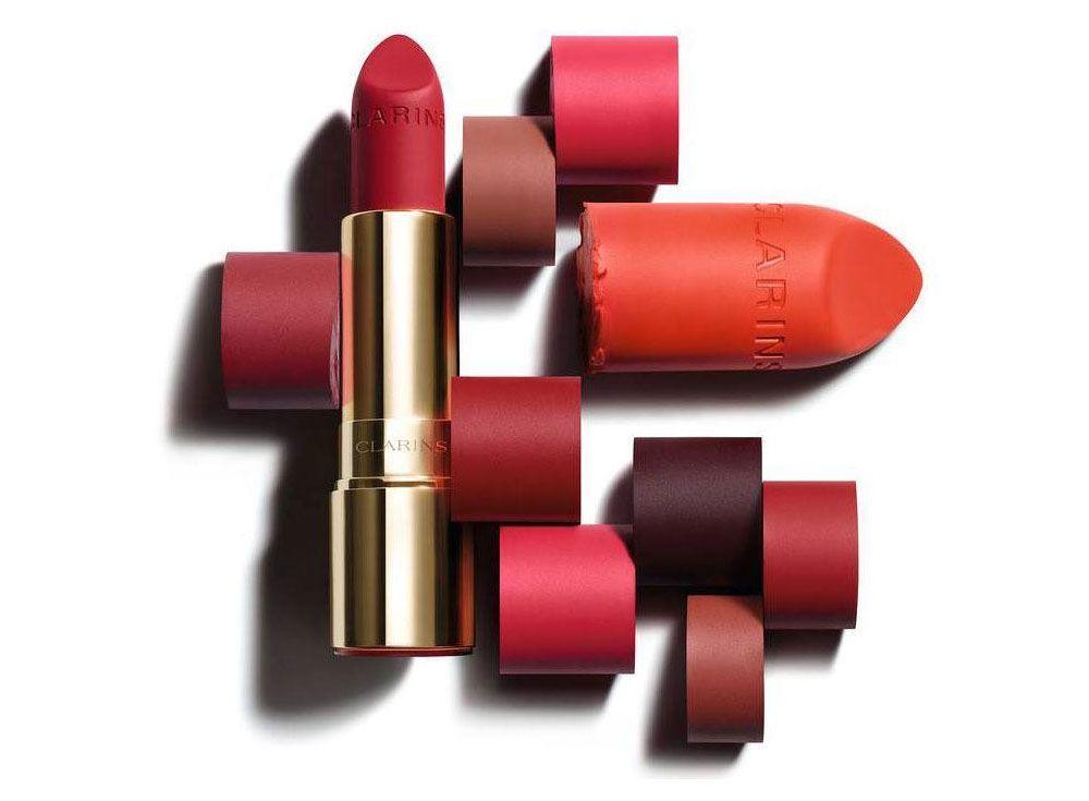 Joli Rouge Velvet Clarins barra de labios mate