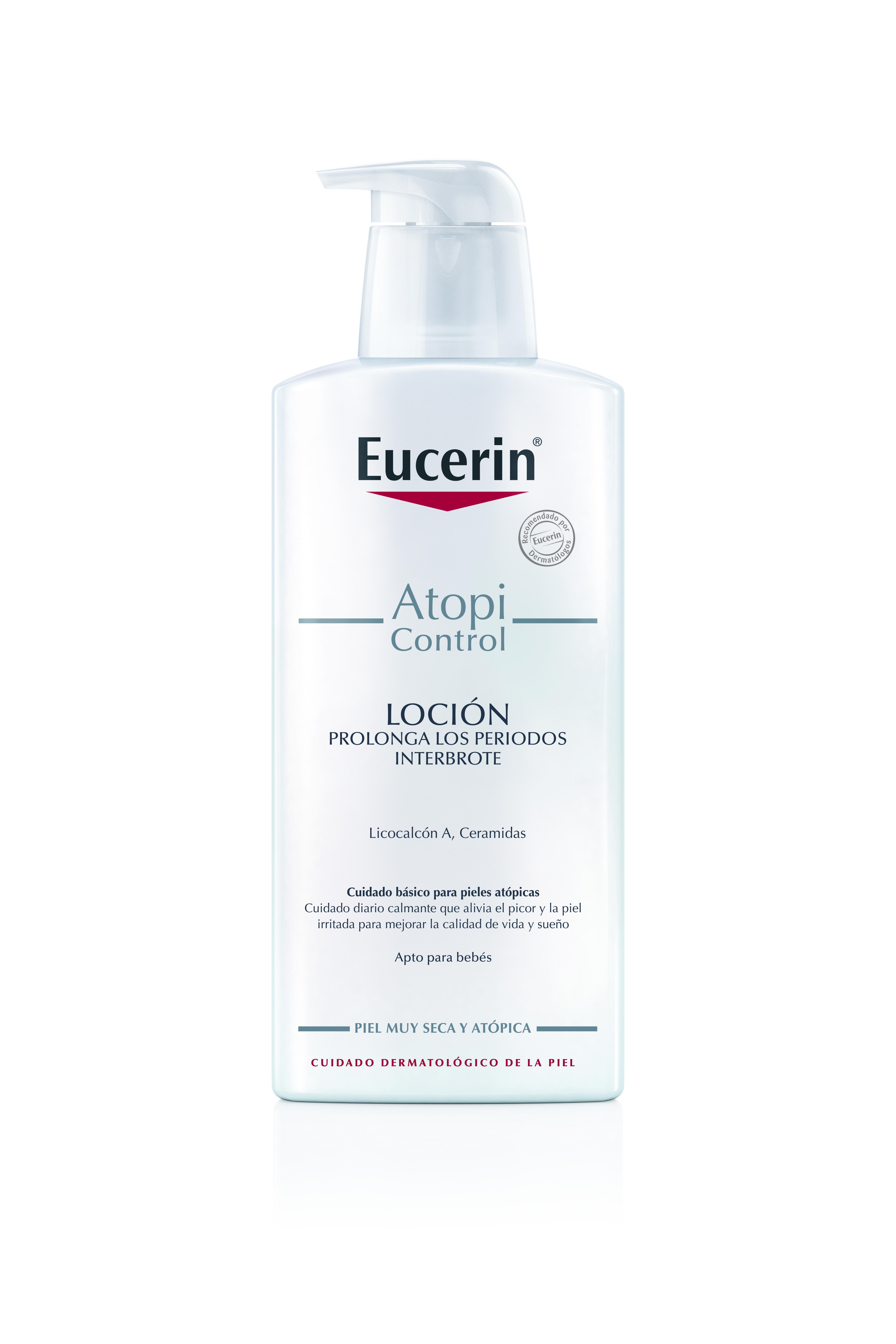 Eucerin AtopiControl Loción Hidratante tratamiento para la dermatitis atopica