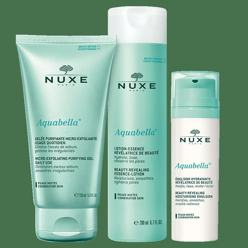 aquabella nuxe cuidado para pieles mixta
