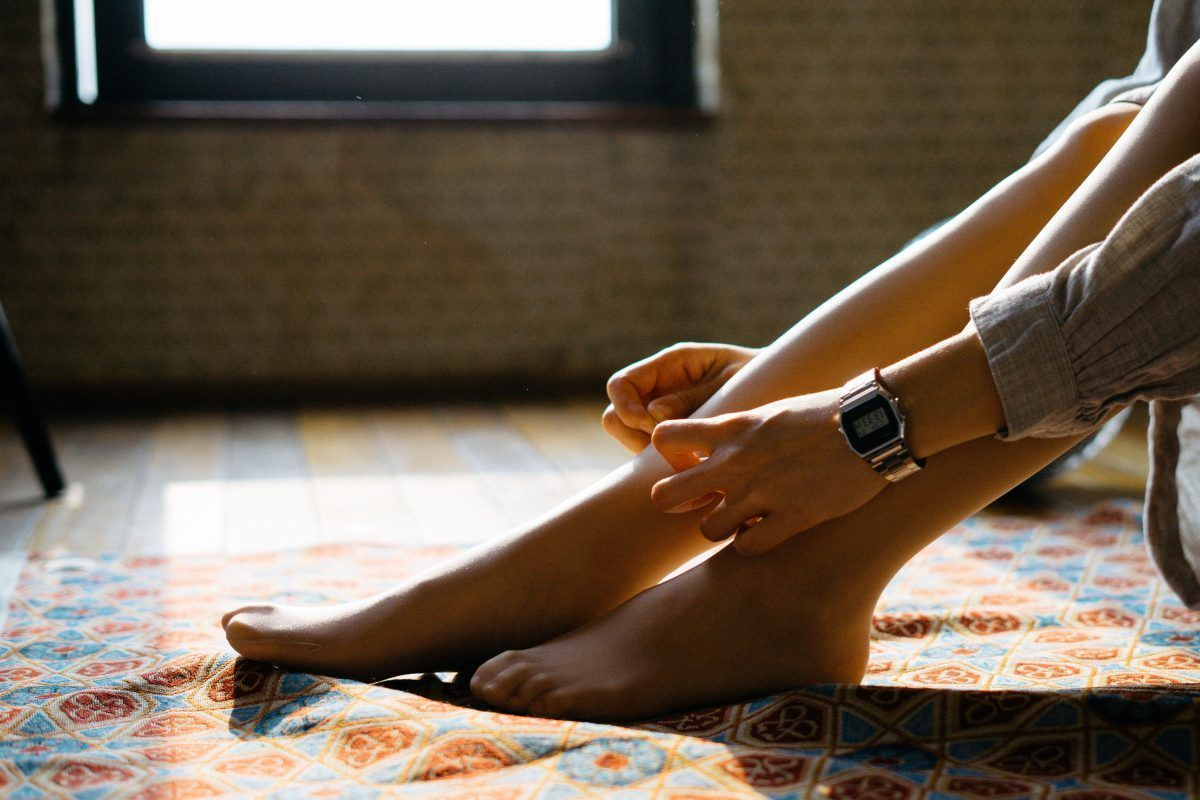 combatir las piernas cansadas