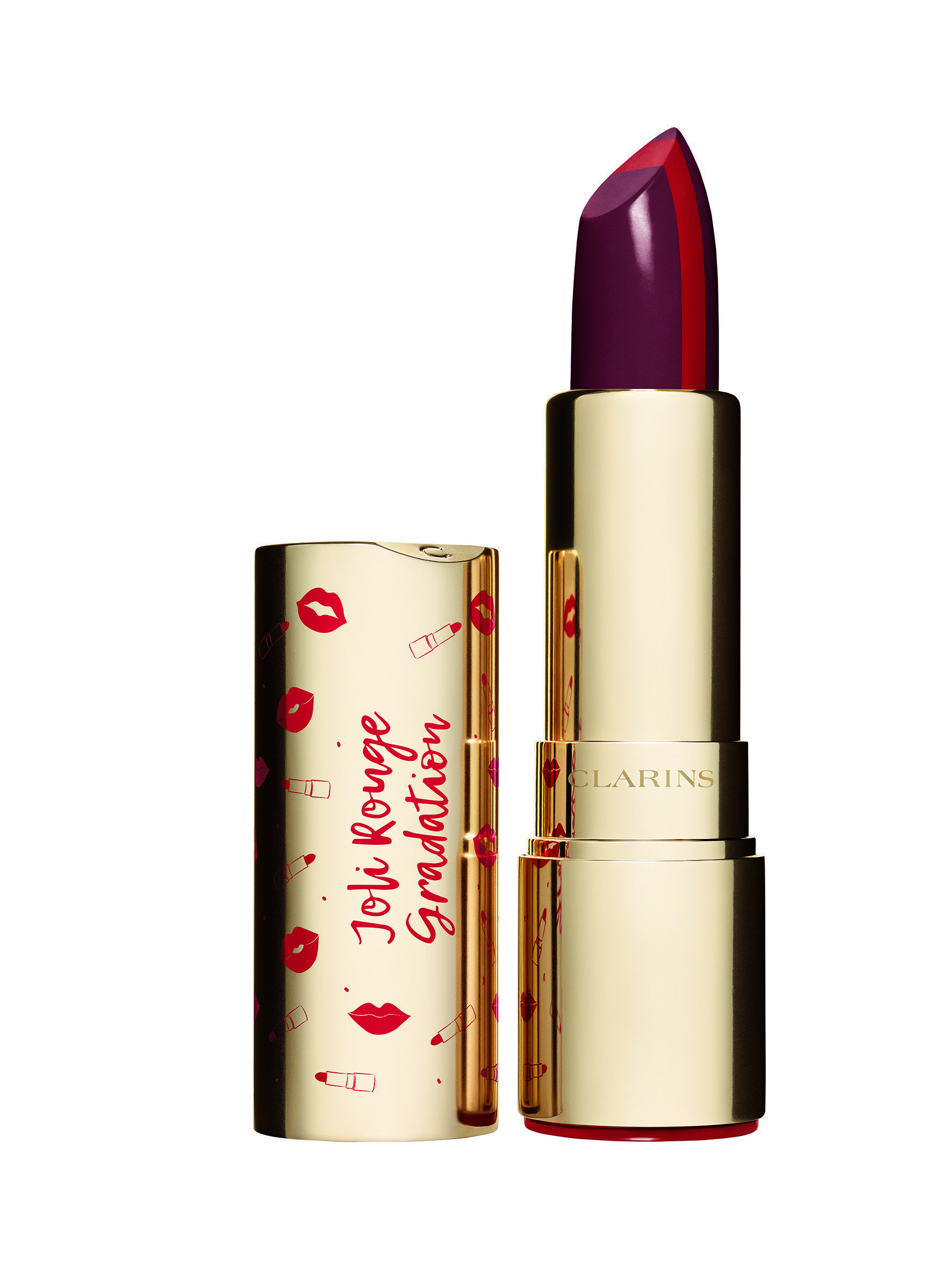 jolie rouge gradation nueva colección de maquillaje de Clarins