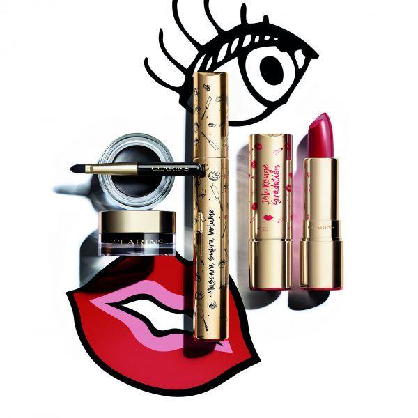 jolie rouge & black nueva colección de maquillaje de Clarins