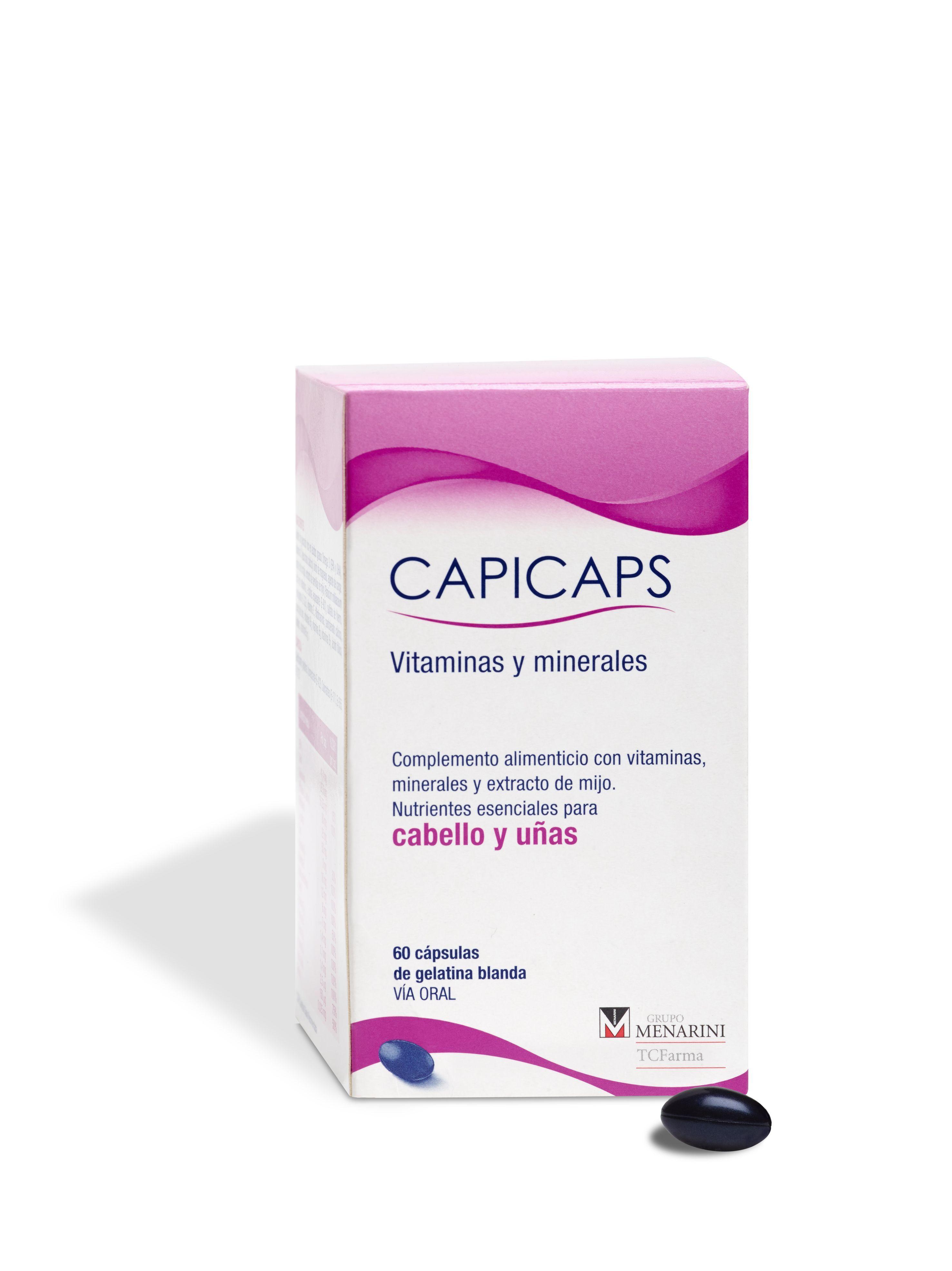 prevenir la caída del cabello capicaps