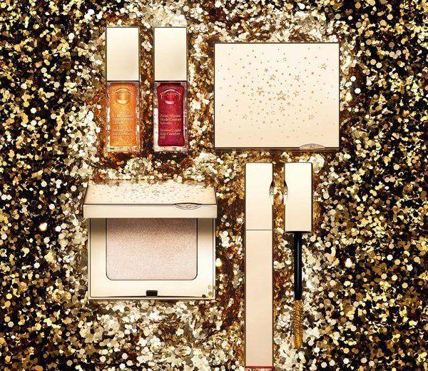 shimer & shine colección de maquillaje de navidad de Clarins