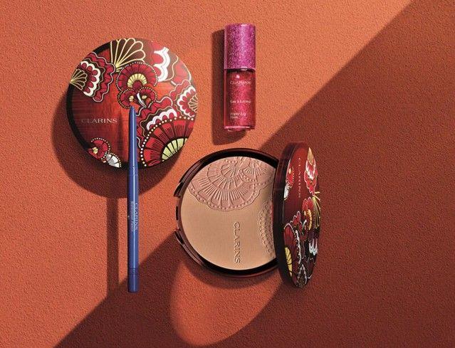 sunkissed clarins colección de maquillaje 2019
