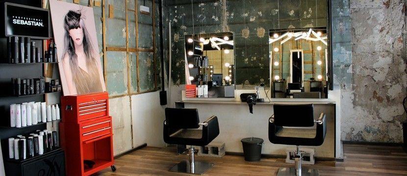 peluquería corta cabeza