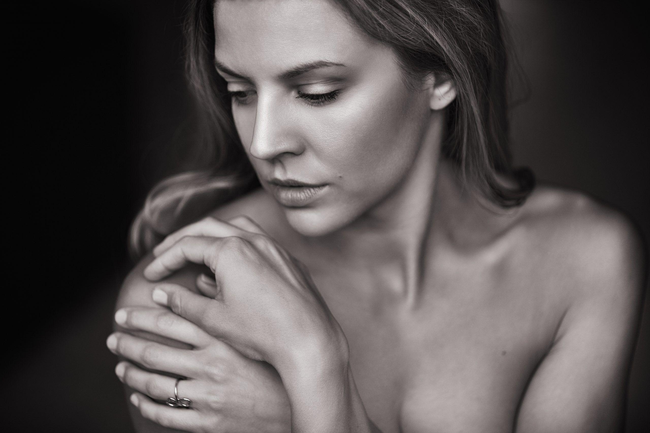 mujer pechos cirugía