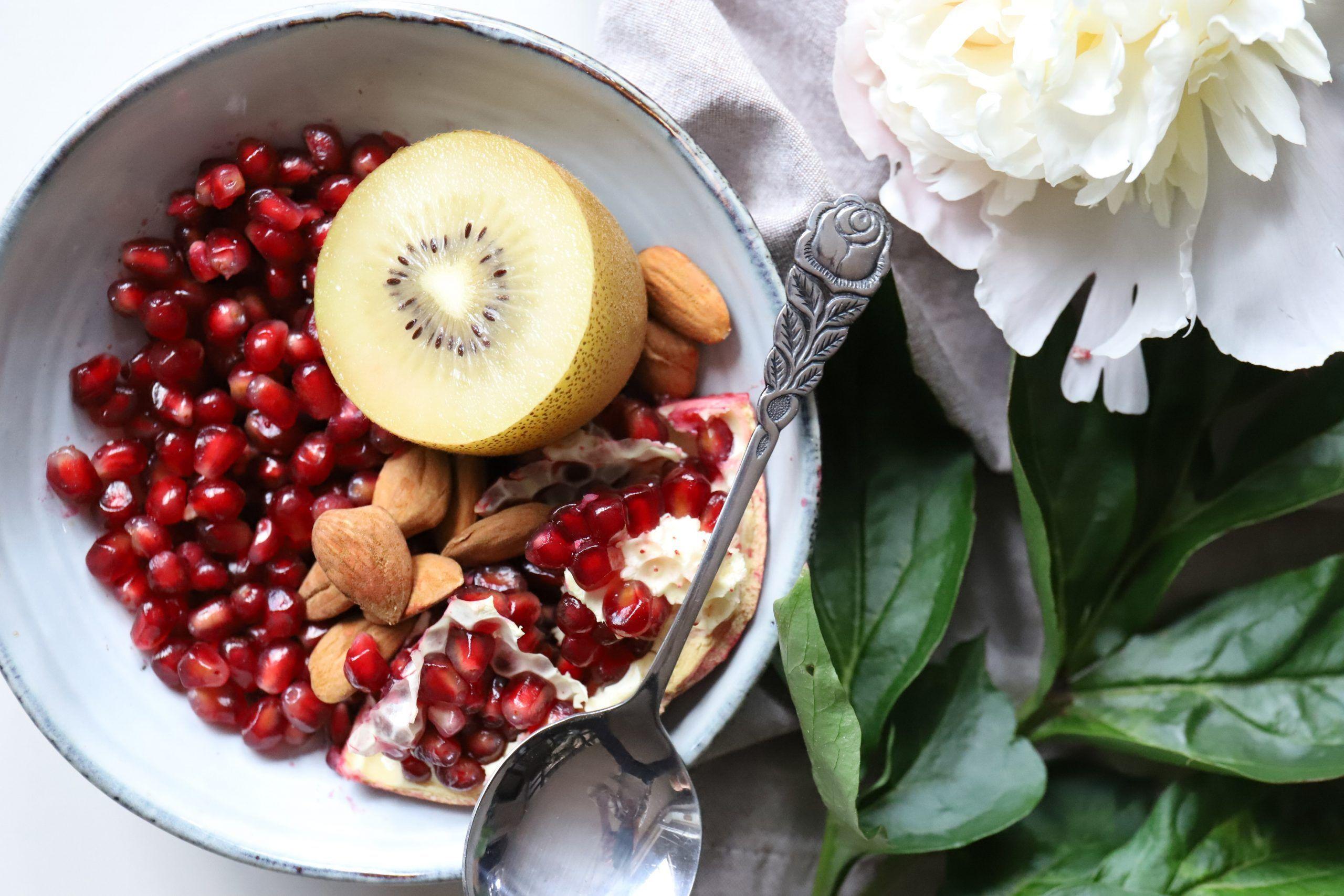 alimentos antioxidantes granada