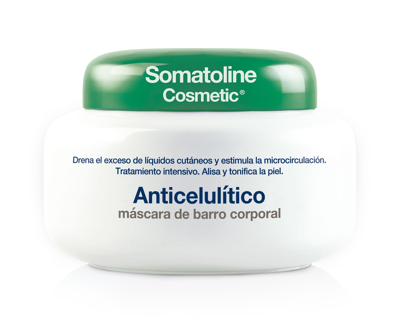 somatoline anticelulítico máscara de barro corporal