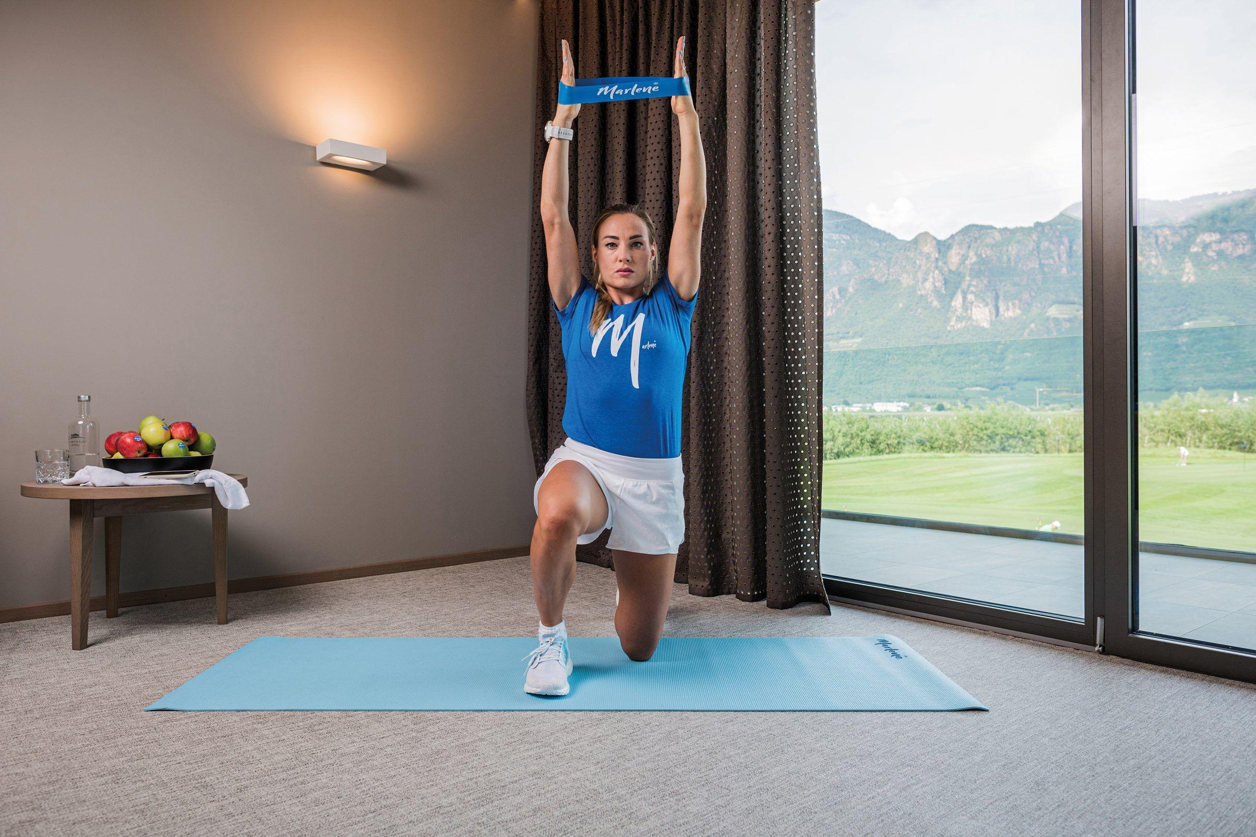 tonificar brazos y piernas activación de hombros