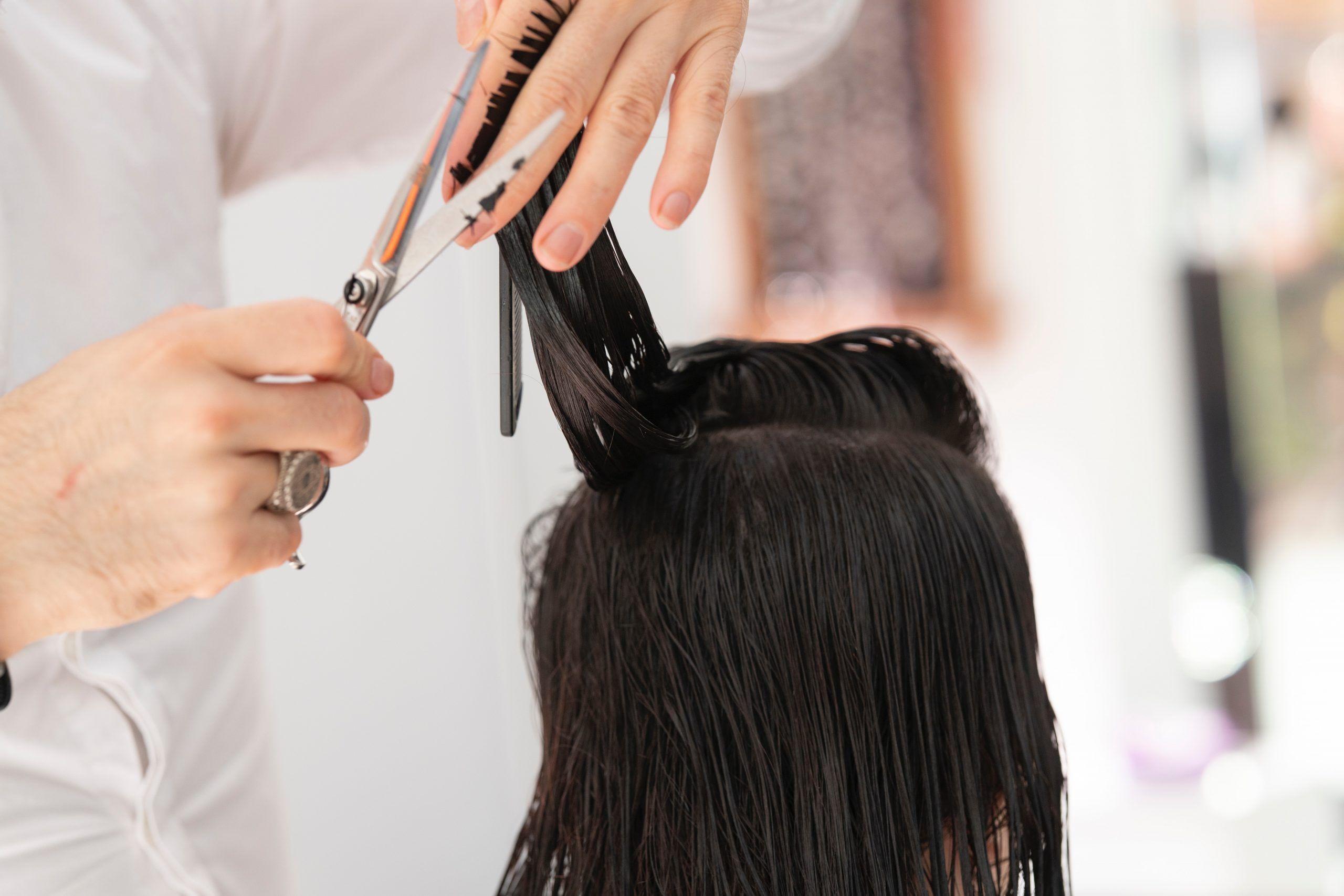 cortar pelo mujer